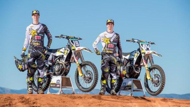 Thomas Kjer-Olsen & Thomas Covington - Rockstar Energy Husqvarna Factory Racing