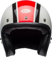 bell custom 500 culture helmet ace cafe stadium gloss silver red black