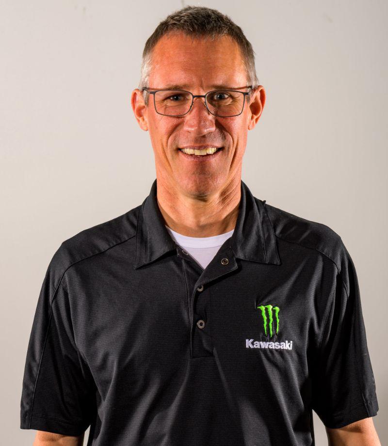 Kawasaki Senior Manager - Racing - Dan Fahie