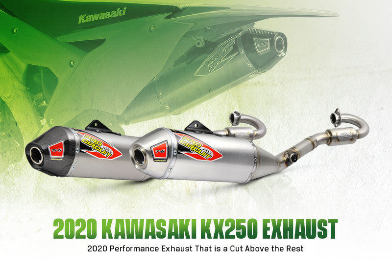 pro circuit 2020 kx250 exhaust systems
