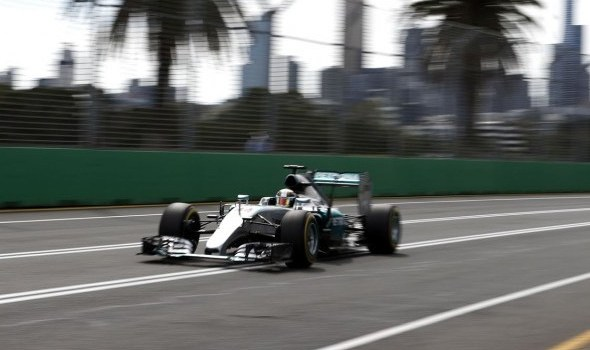 Lewis Hamilton, 2015 Australian Grand Prix