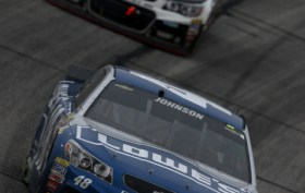 Jimmie Johnson wins in Atlanta.