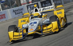 Simon Pagenaud 41st Grand Prix of Long Beach 2015 IndyCar