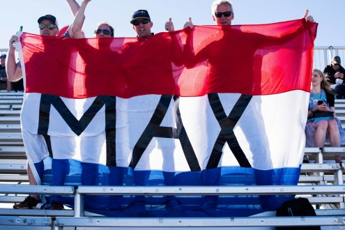 Max fans were everywhere