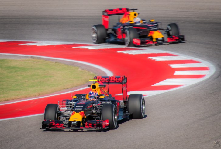 Red Bull's hopes faded with a balky pit stop for Max and a poorly timed VSC for Ricciardo