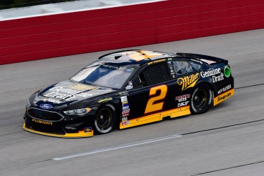 Monster Energy NASCAR CUp Series Bojangles' Southern 500 Darlington Raceway, Darlington, SC USA Friday 1 September 2017 Brad Keselowski, Team Penske, Miller Genuine Draft Ford Fusion World Copyright: John K Harrelson / Harrelson Photography Inc.