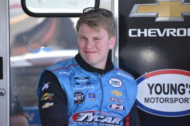 Tyler Dippel is one of multiple drivers competing for Sunoco Rookie of the Year honors in the Gander Outdoors Truck Series.