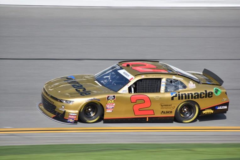Tyler Reddick won the pole for the NASCAR Racing Experience 300