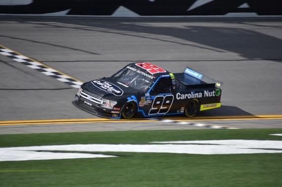 For the third straight season, ThorSport Racing's Ben Rhodes underwent a number change.