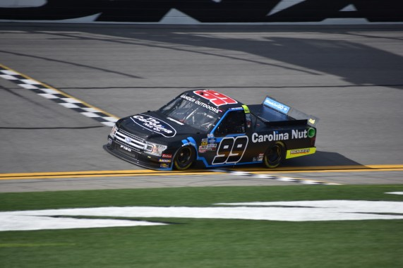 For the third straight season, ThorSport Racing's Ben Rhodes underwent a number change.