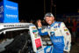 MADISON, IL - JUNE 22: Ross Chastain, driver of the CarSheild.com Chevrolet, poses with the winner's sticker after winning the NASCAR Gander Outdoors Truck Series CarShield 200 presented by CK at Gateway Motorsports Park on June 22, 2019 in Madison, Illinois. (Photo by Jeff Curry/Getty Images)