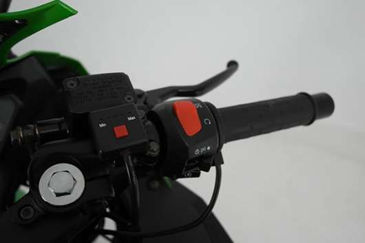 Motor accessoire handvatwerwarming