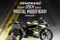 Juara 1 Modifikasi Digital GSX Series Periode 1