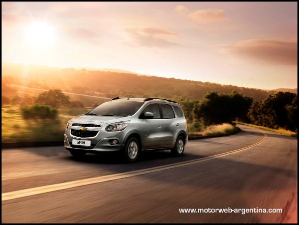 Chevrolet Inicia La Comercializacin Del Spin Con Motorizacin Disel