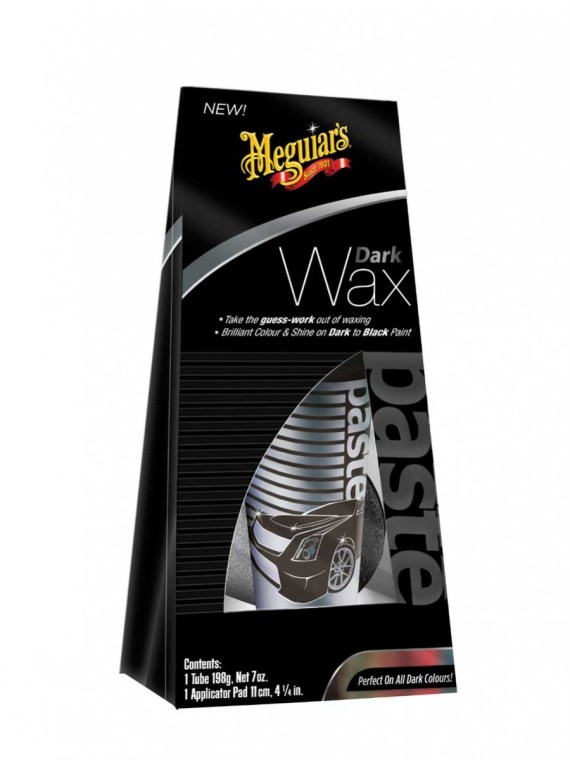 BLACK WAX 7 OZ TUBE WITH APPLICATOR PAD