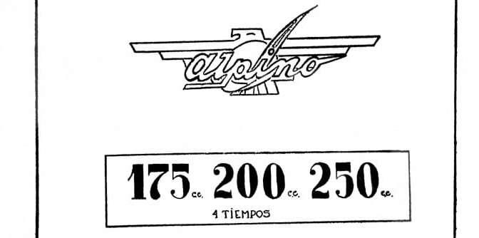 Catálogo de repuestos – Alpino 175/200/250 4T