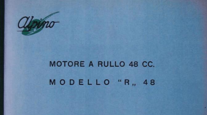 Despiece Alpino 48 2T – Modelo «R»