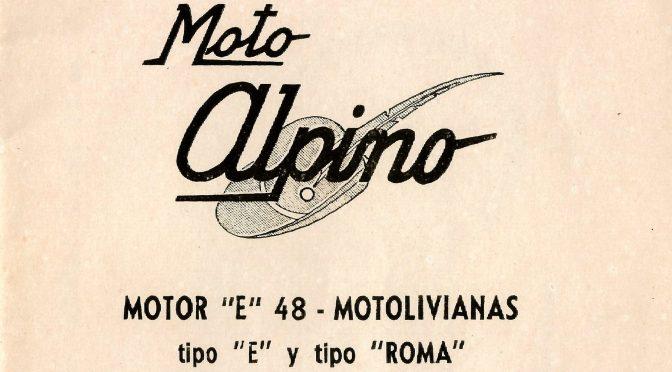 Mantenimiento Alpino 48 Modelos «E» y Roma