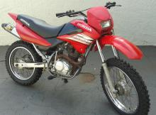 Moto Honda Brós NXR 125