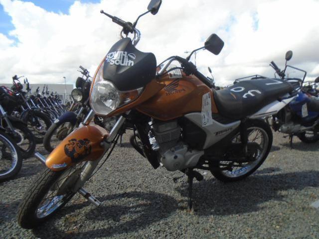 Leilão do Detran tem Honda CG 150 2010 com lance inicial de R$700