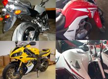 Leilão de motos apreendidas