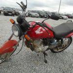 Leilão do Detran tem motoHonda CG 125 por R$ 845,78