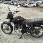 Leilão de veículos tem Honda CG 125 FAN com lance inicial de R$ 700