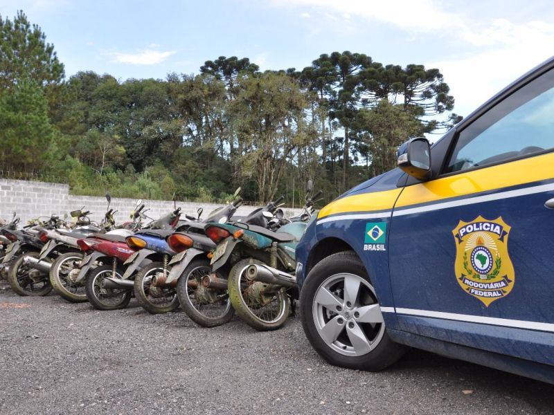Leilão de veículos apreendidos PRF acontece dia 13 e 19