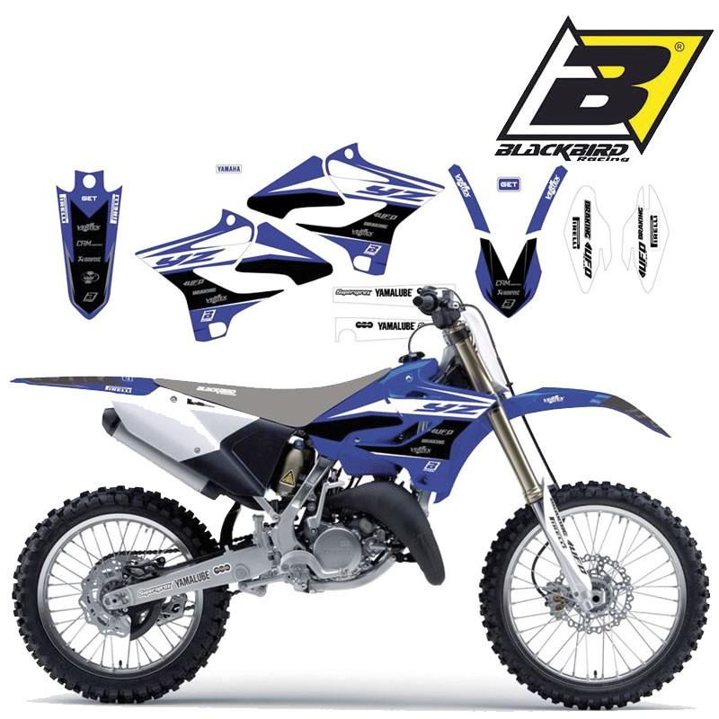 motorradteile kit deco garde boue av ar pour yamaha yz 125 et yz 250 2015 a 2020 com