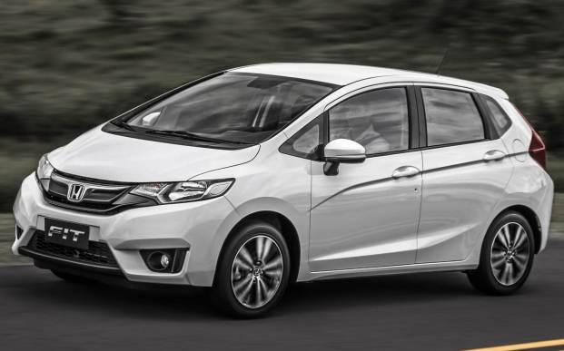 Novo Honda Fit 2016 cores
