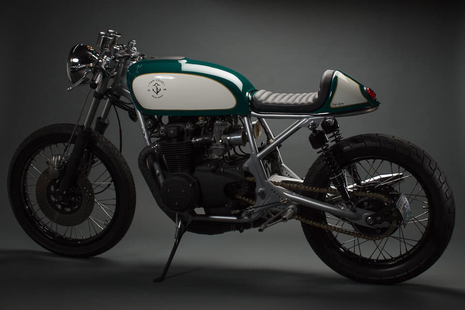 Honda CB550 by Café Cycles