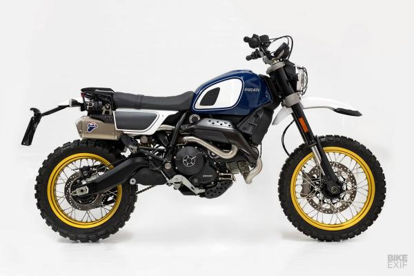Ducati Scrambler Desert Sled by Unit Garage