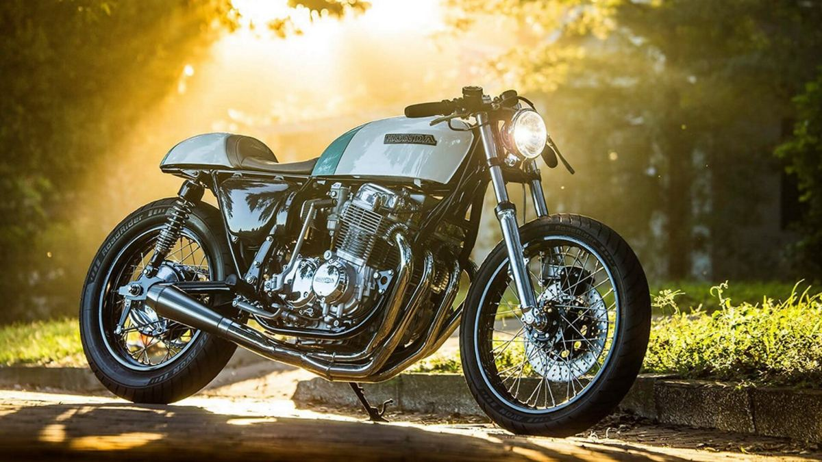 Honda CB750K by Justin Webster Designs