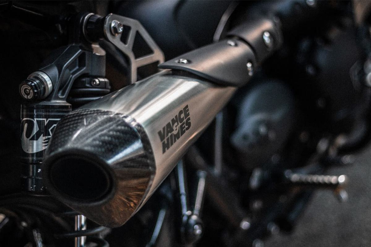 Triumph Street Cup par Cafe Racers of Instagram