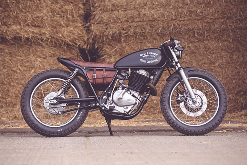 Suzuki GN400 by Old Empire Motorcycles
