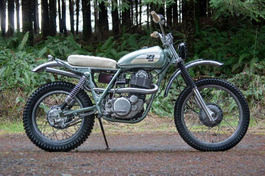 Yamaha XT 500 par Red Clouds Collective