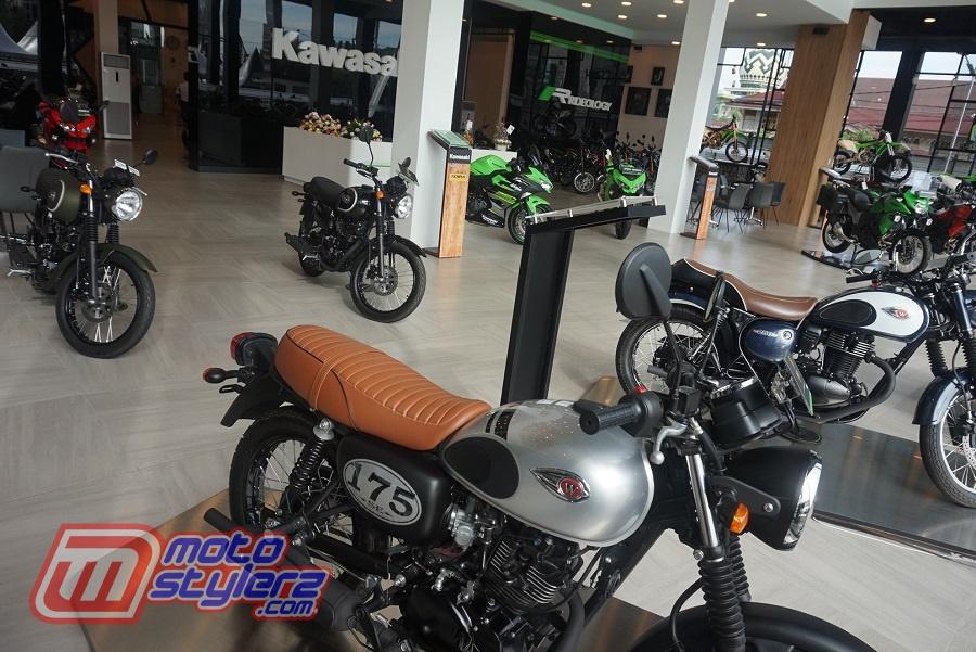 Beragam Tipe & Model Produk Kawasaki-Bisa Dinikmati Calon Konsumen Bareng Ngopi Dan Wifi Gratis