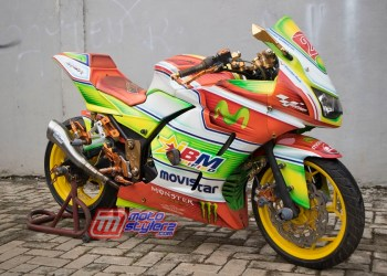 Modifikasi Ninja 250-Lebih Stylish & Modis