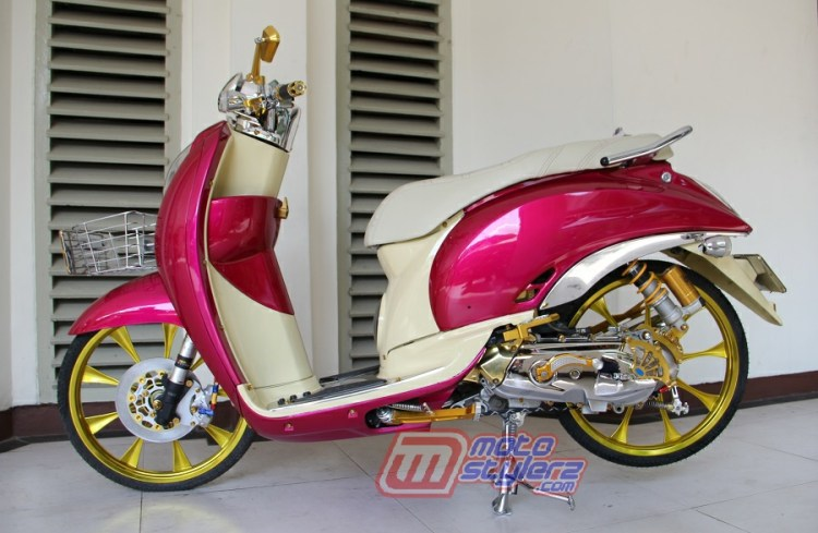 Modifikasi Scoopy-Sukses Disulap Eye Catching