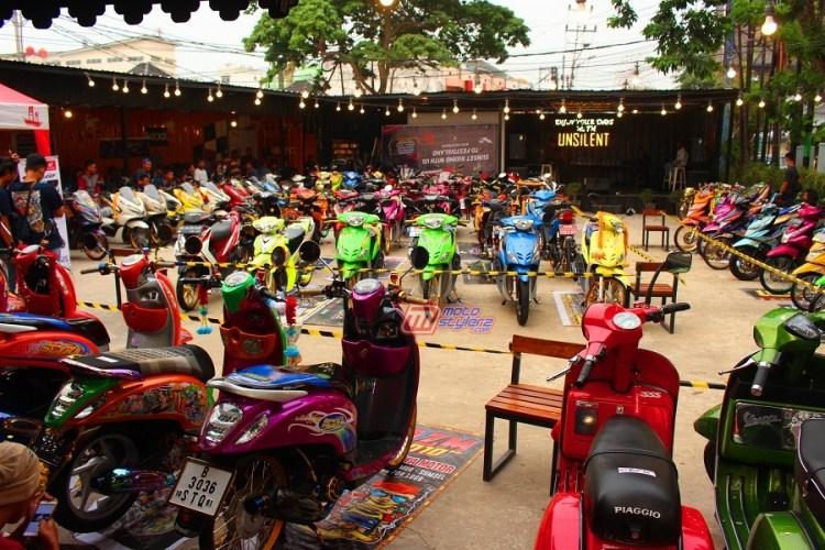 Motocontez by Rumah Airbrush-Momen Ke 4 Dihadiri 80 Modifstylerz Sriwijaya