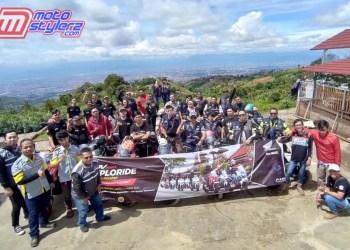 Diikuti 70 Bikers Honda-Nikmati City Rolling Mengesankan
