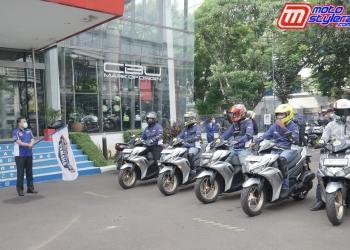 Test Ride All New Aerox 155 Connected-Diikuti Awak Media & Komunitas Yamaha