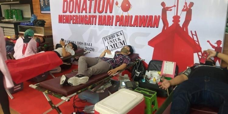 Bekerja sama Dengan PMI Bali, Xmax Owner Club Bali Gelar Aksi Donor Darah