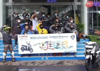 PT Yamaha Indonesia Motor Manufacturing-Gelar Touring Yamaha GEAR 125