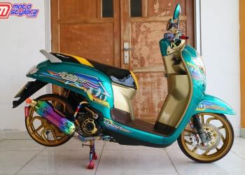 Modif Baby Look Style by Wandra Motor feat Akel Painting