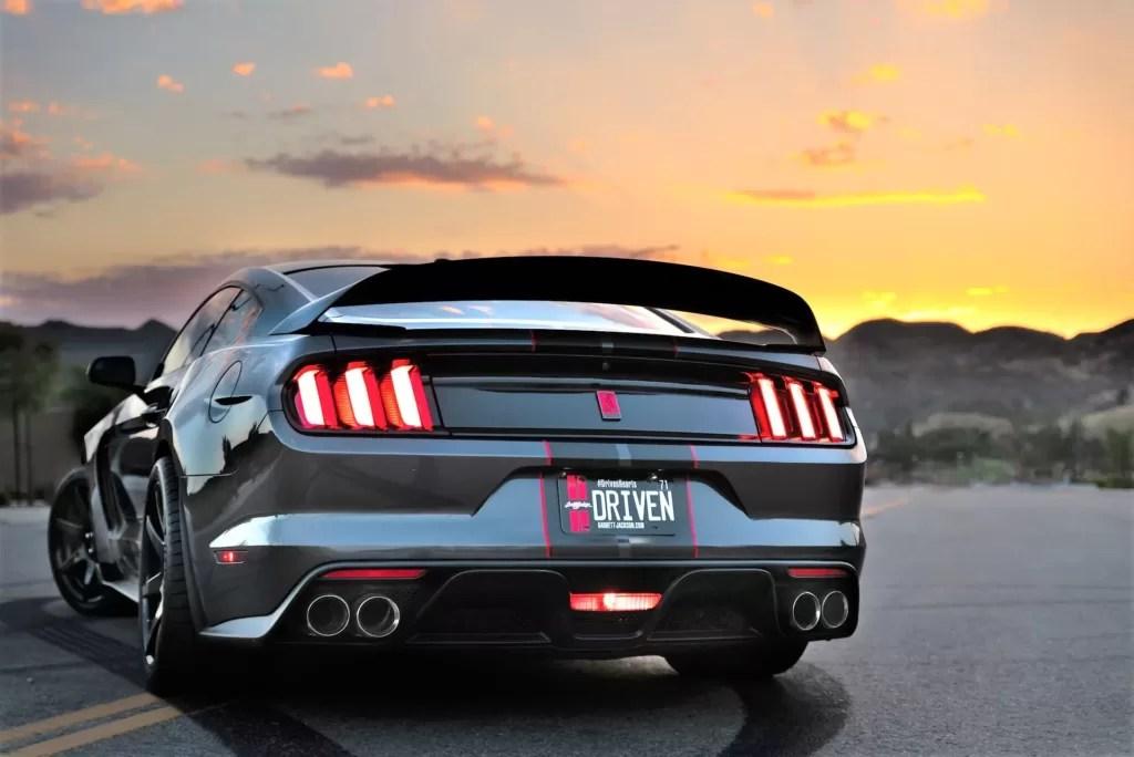 2021 GT500 exhaust showcase