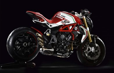 Dragster RC Built on the basis of Dragster RR, the MV Agusta Dragster 800 RC is a new entry to the stunning RC Range, A motorcycle intended for an audience who appreciates beauty combined with performance, for the true enthusiast who wants to taste the spirit of racing and the associated technology that forms an integral part of the sport.