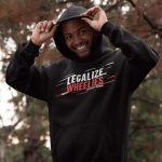 Legalize Wheelies Hoodie für Männer