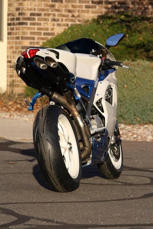 Toce T Slash Exhaust Ducati 848