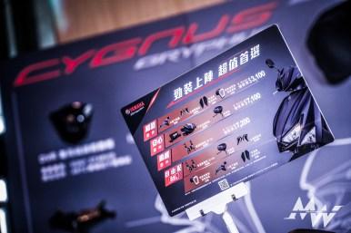 YAMAHA CYGNUS GRYPHUS 勁戰六代 發表會_-102